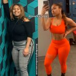 Imani lost 60 pounds
