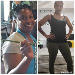 Janea lost 35 pounds