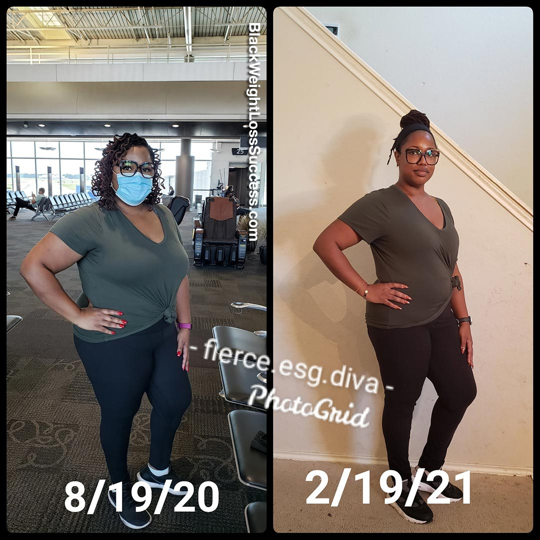 Kyra before and after weight loss