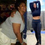 Kyra lost 105 pounds