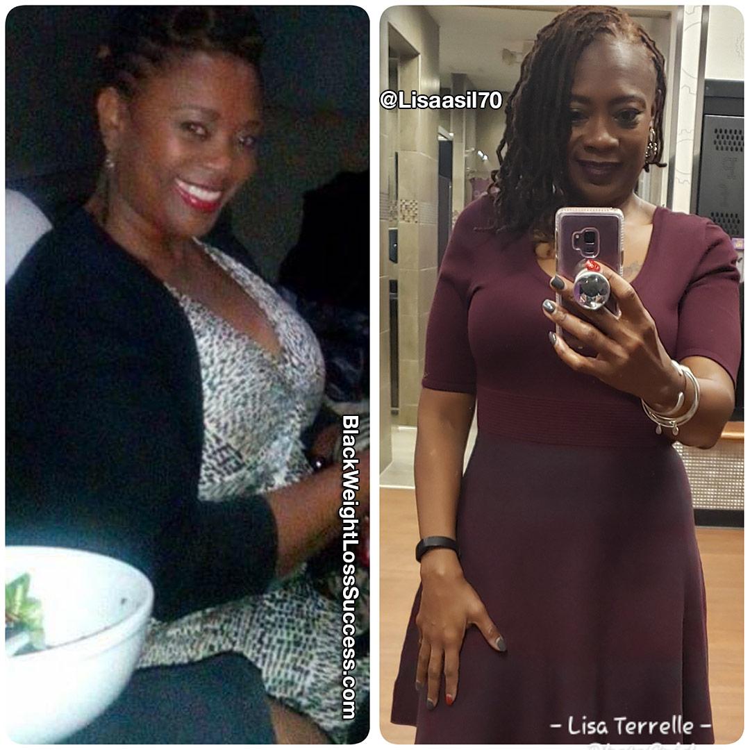 Lisalost 55 pounds