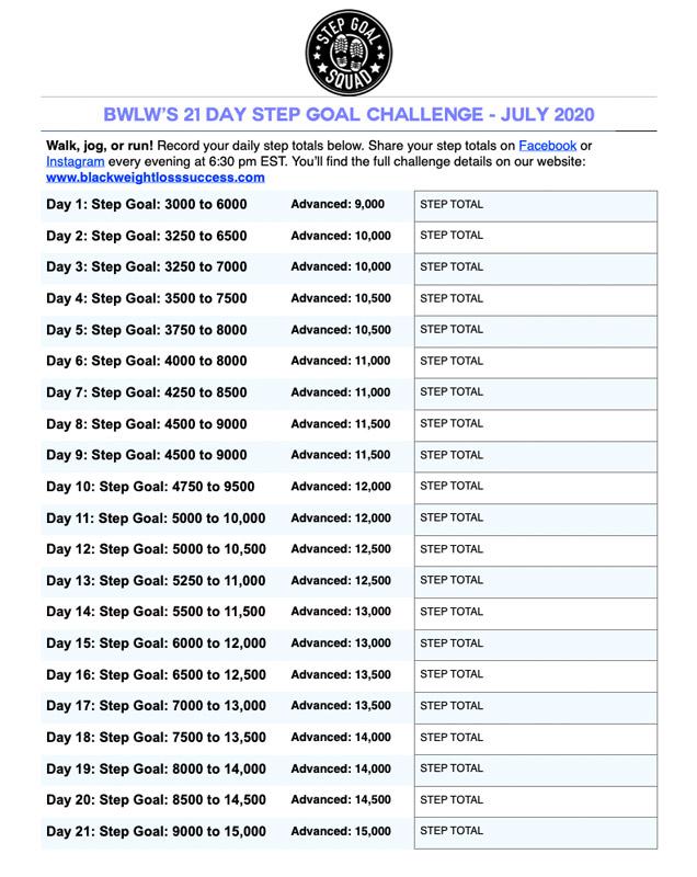 May Step Goal Challenge