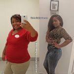 Sheila lost 103 pounds