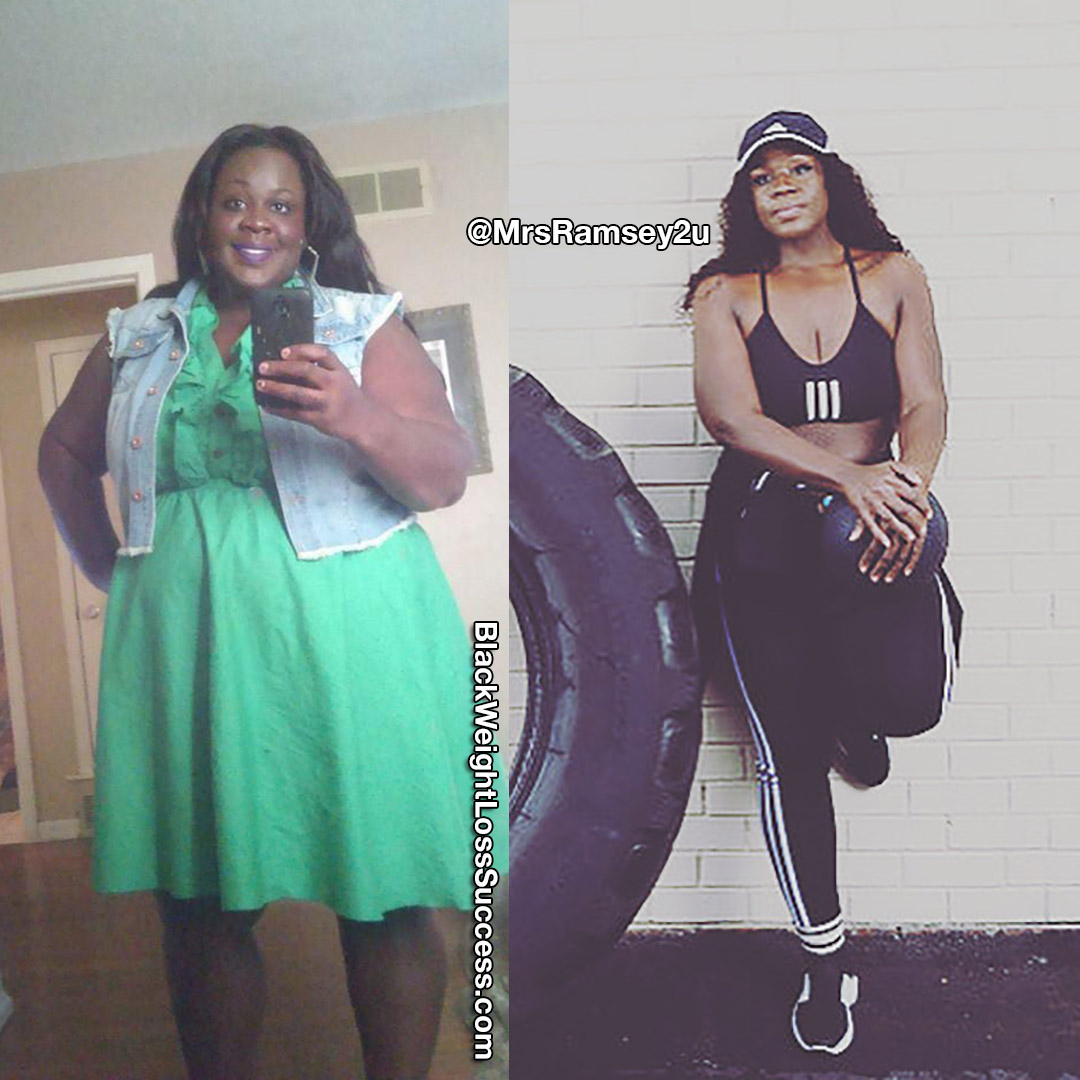 Shemeka before and after