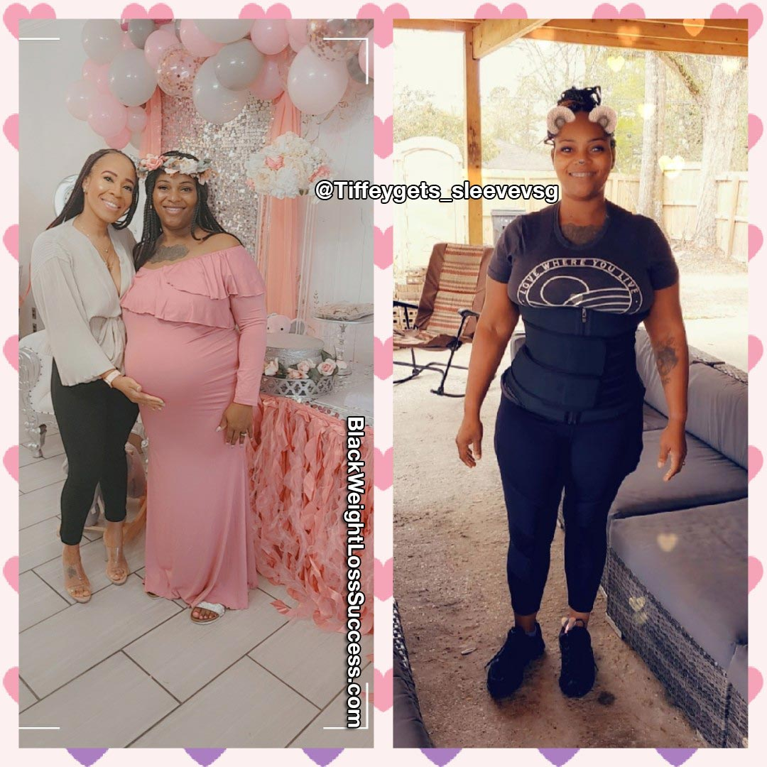 Tiffany lost 81 pounds