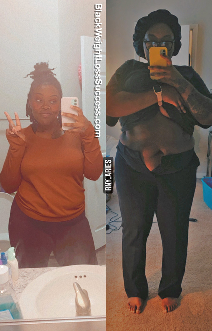 Asianna lost 60 pounds
