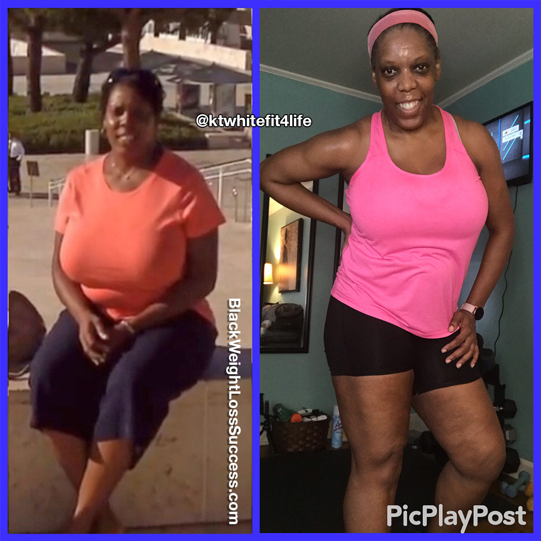 Kathalene lost 35 pounds