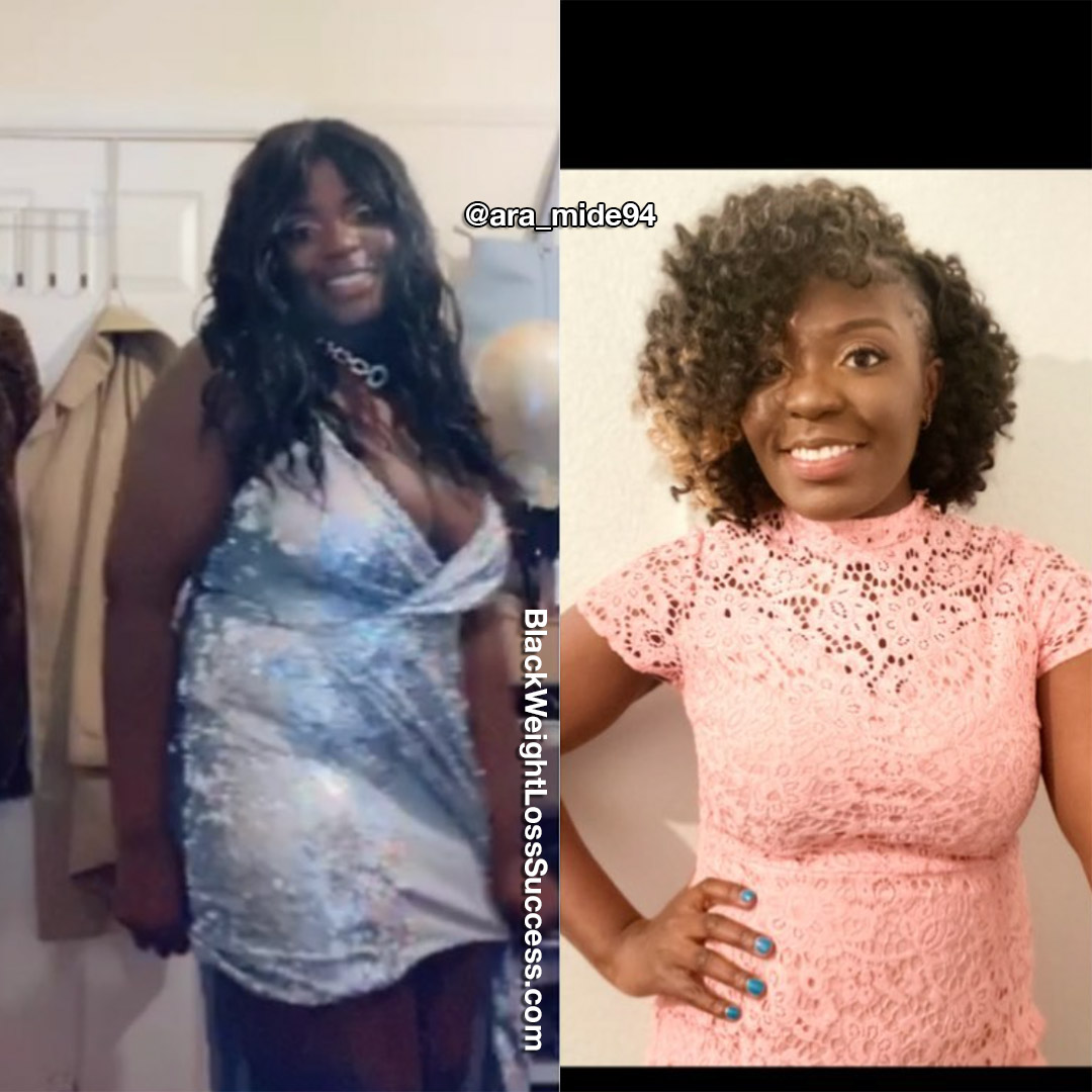 Aramide before and after