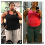 Erica lost 106 pounds