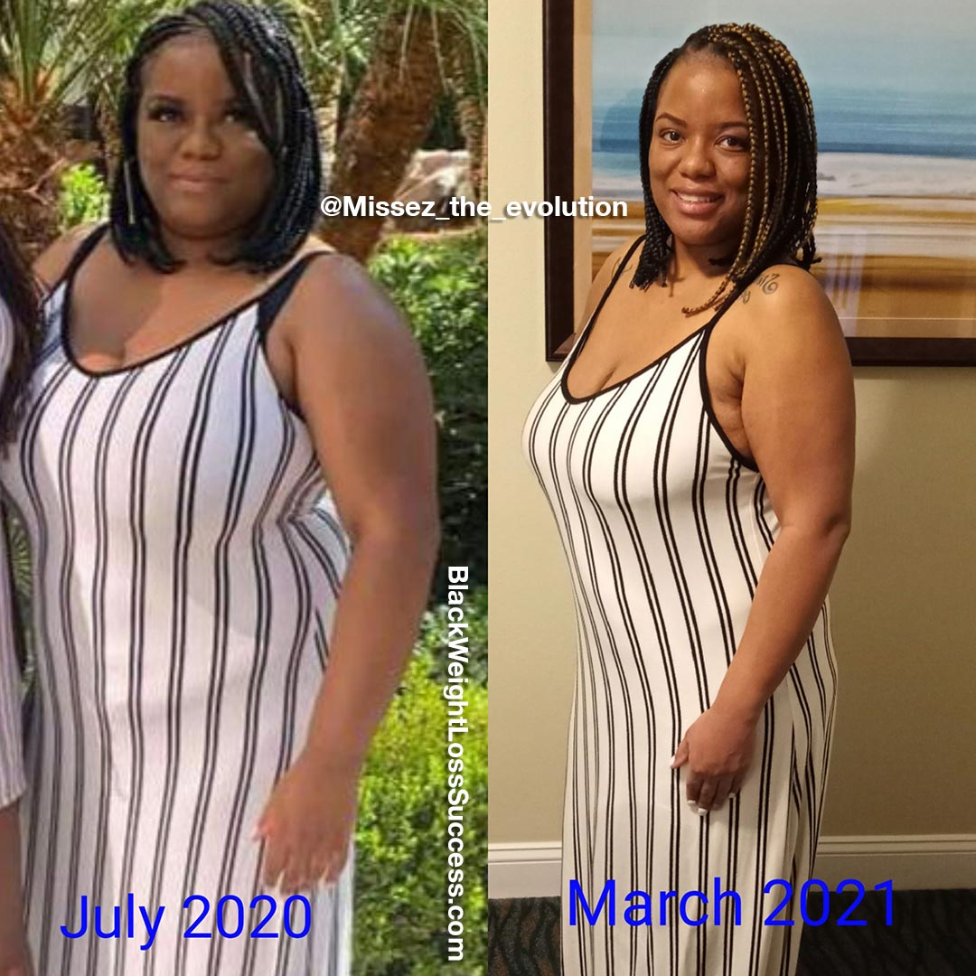 Jerrica before and after weight loss