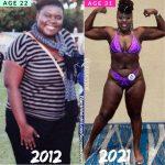 Joelle lost 96 pounds