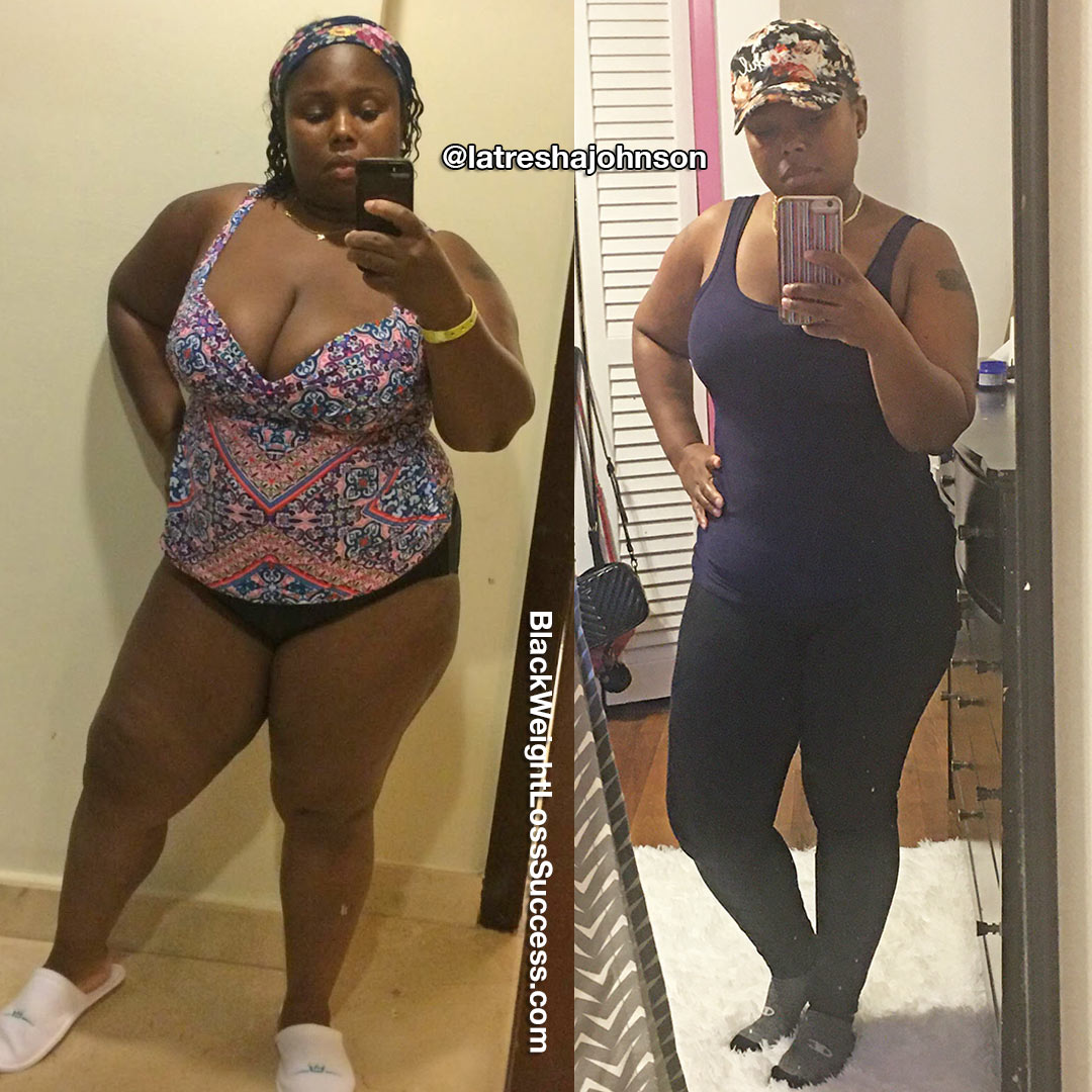 Latresha before and after