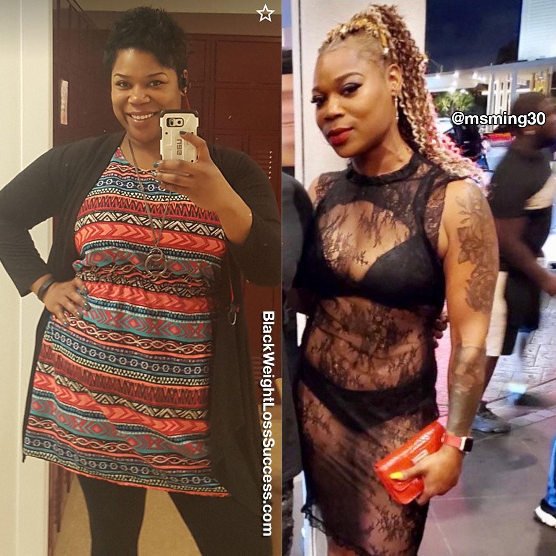 Mignon lost 82 pounds