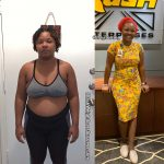 Norrie lost 45 pounds
