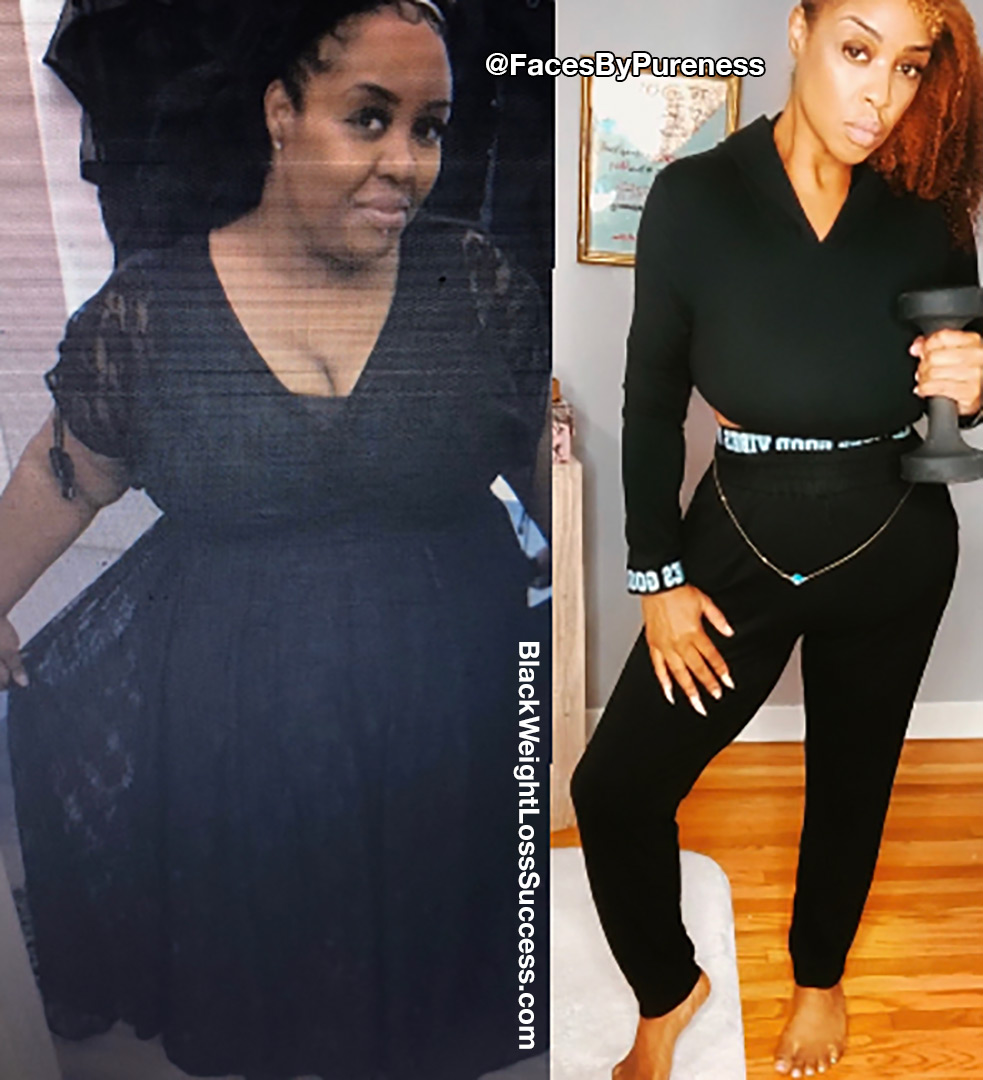 Pureness lost 235 pounds