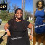 JaVonya lost 80 pounds