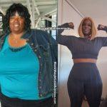 Karishia lost 150 pounds
