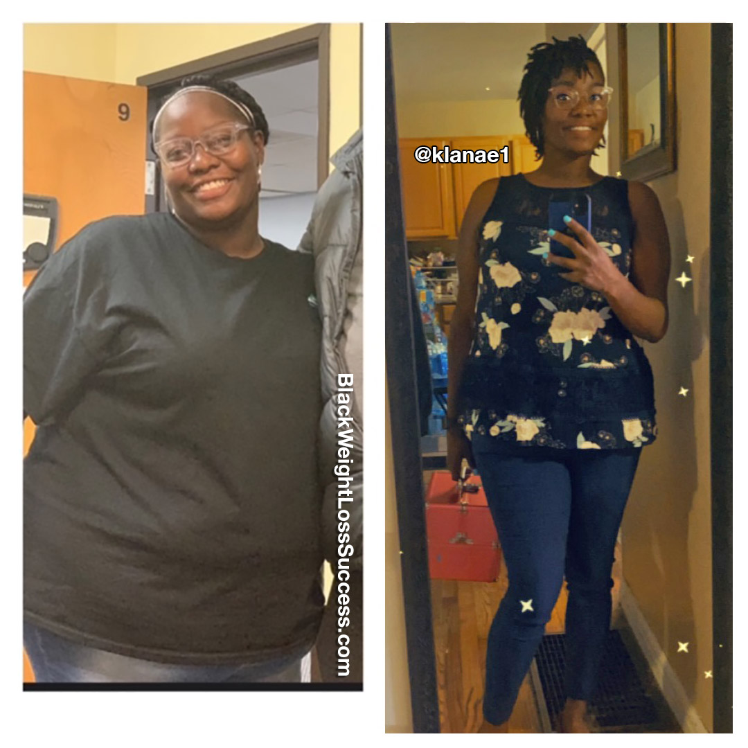 Kristal lost 91 pounds