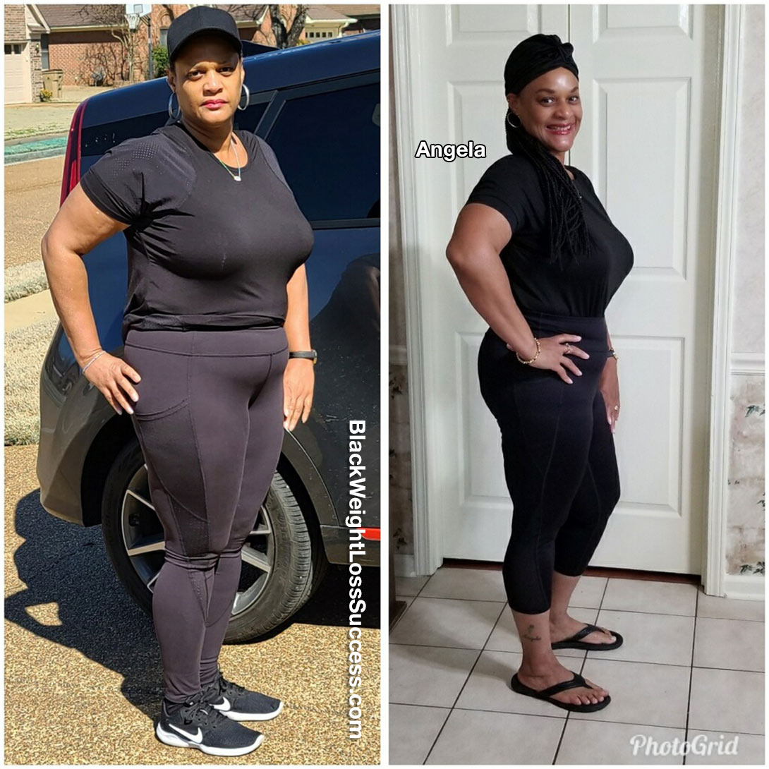 Angela lost 25 pounds