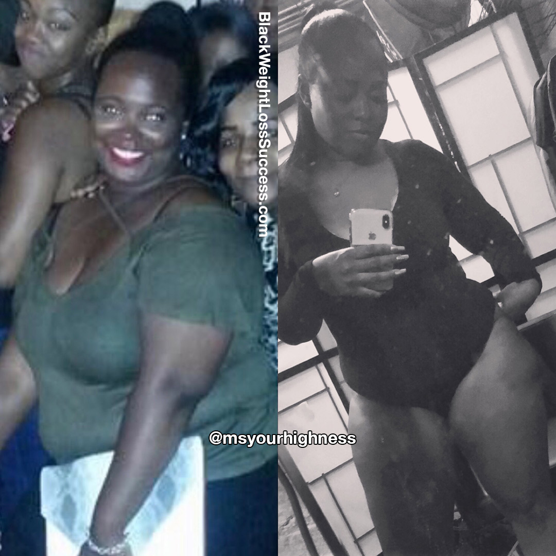 Brittney lost 38 pounds