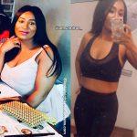 Sandra lost 24 pounds