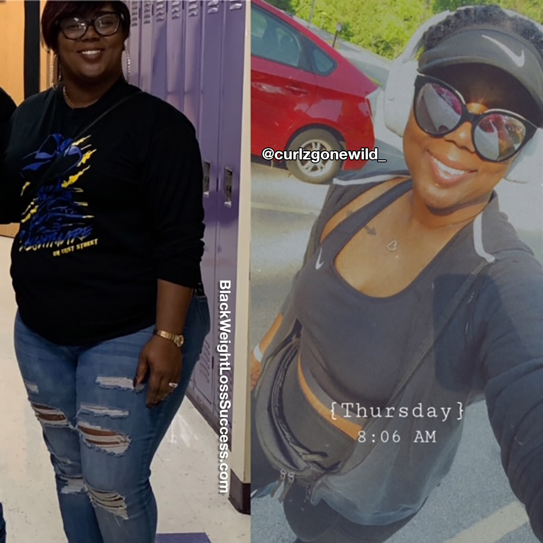 Asia lost 69 pounds