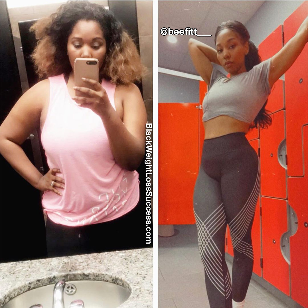 Brittany lost 105 pounds