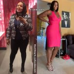 Candice lost 94 pounds