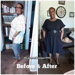 Carmen lost 20 pounds