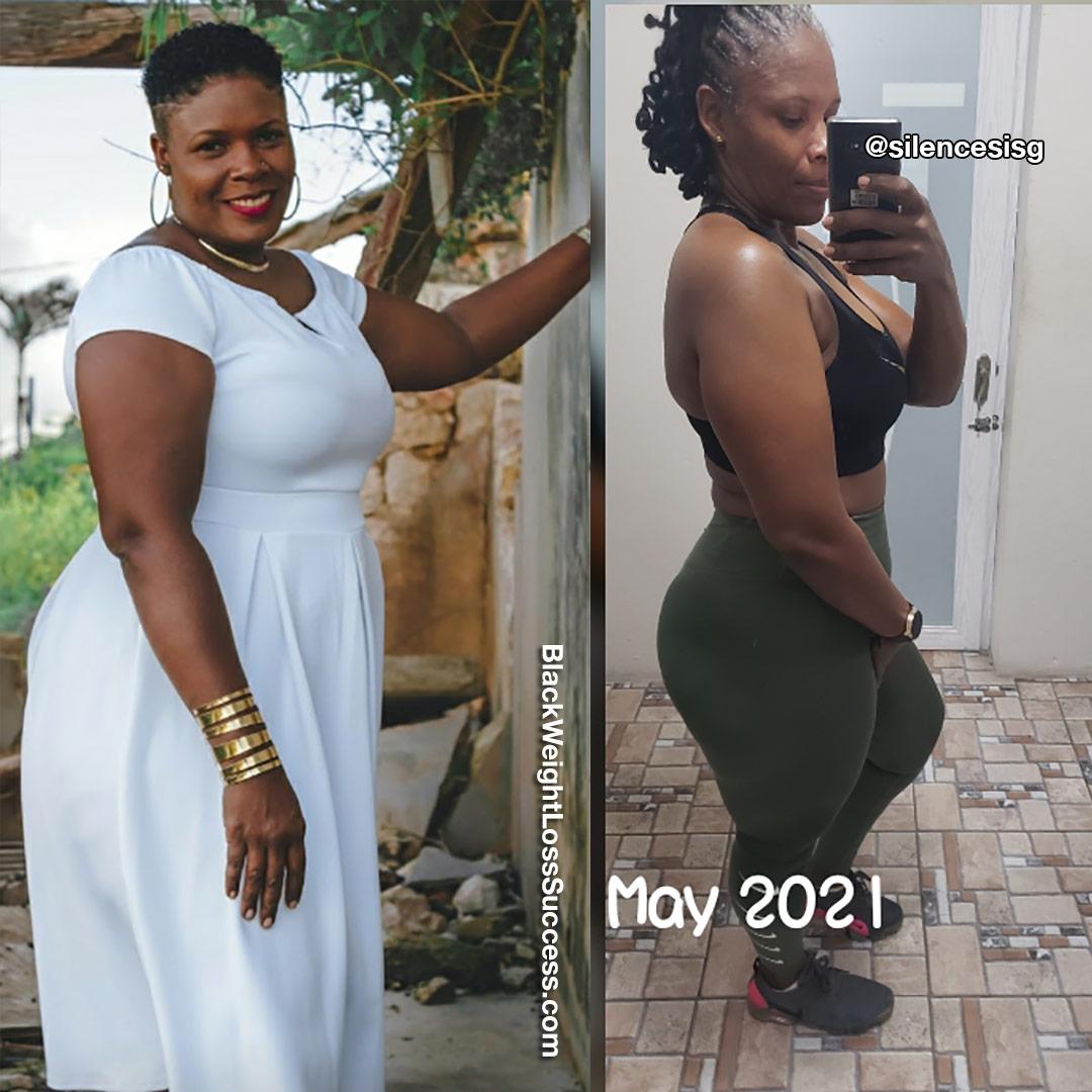 Jojo lost 56 pounds