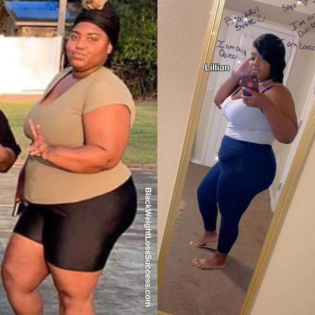 Lillian lost 41 pounds
