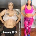 Nikki lost 44 pounds