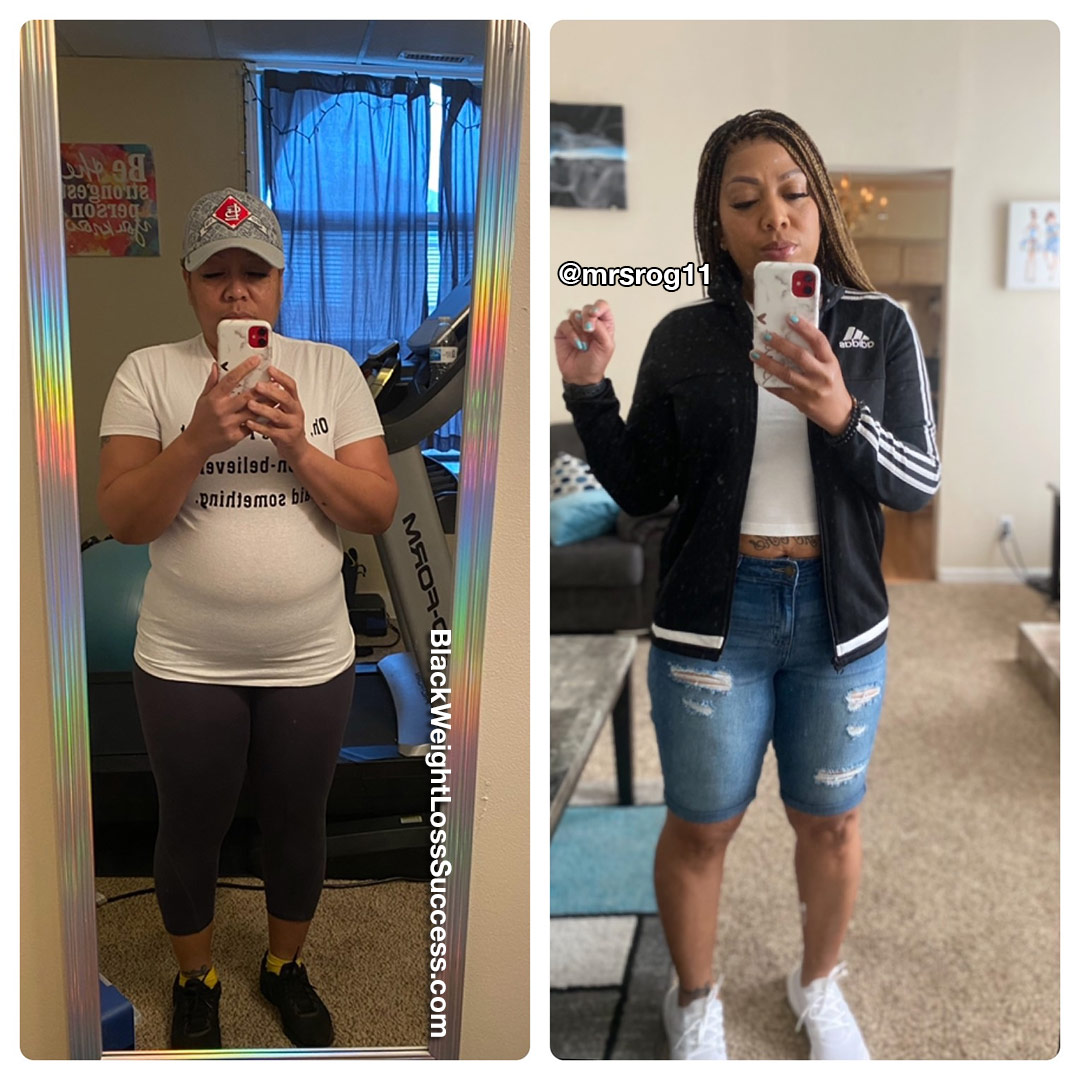 Sharita lost 30 pounds