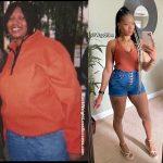 Wadeana lost 70 pounds
