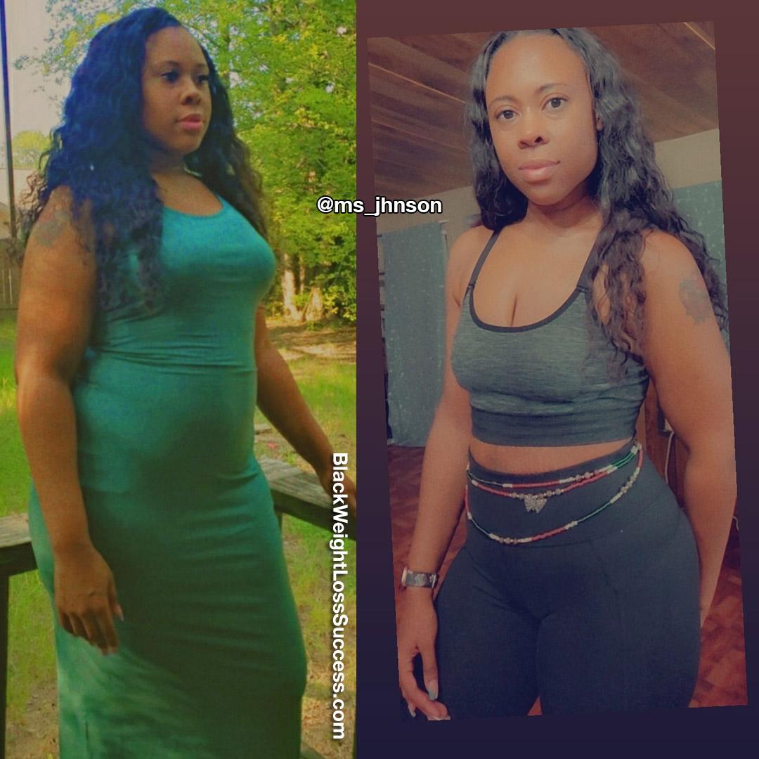 Ashley lost 100 pounds