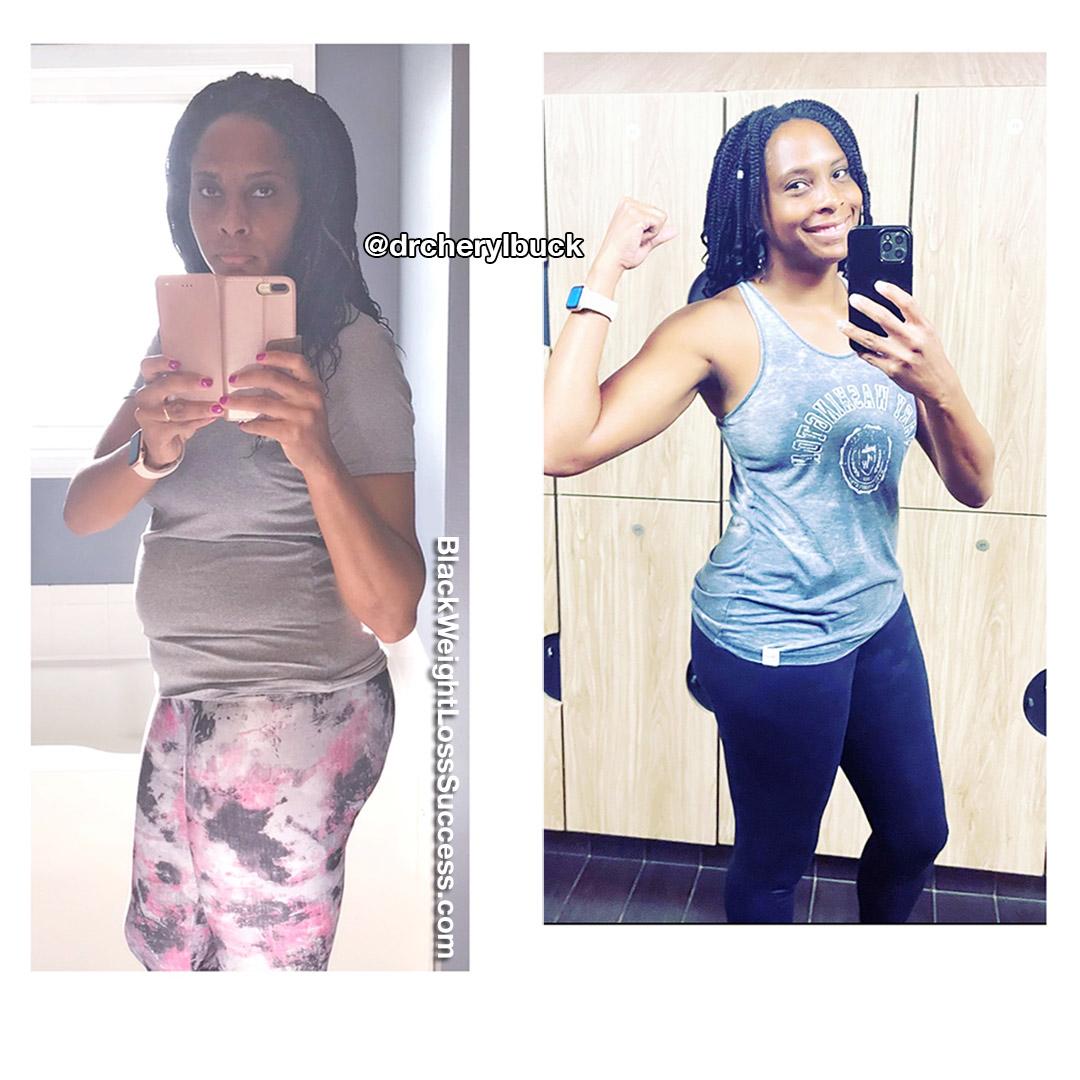 Cheryl lost 25 pounds