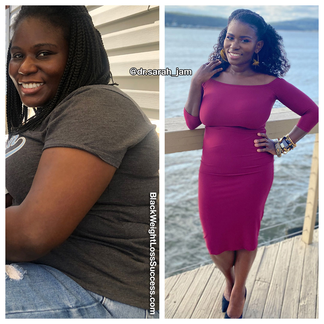 Dr. Sarah lost 40 pounds