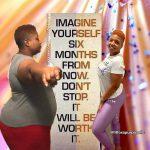 Nicole lost 112 pounds