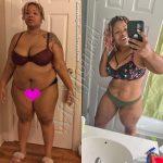 Raven lost 105 pounds