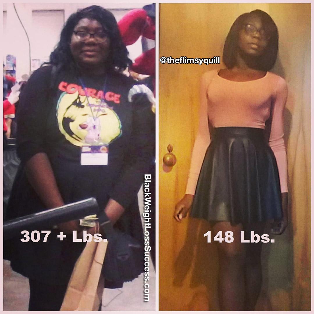 Regine lost 159 pounds