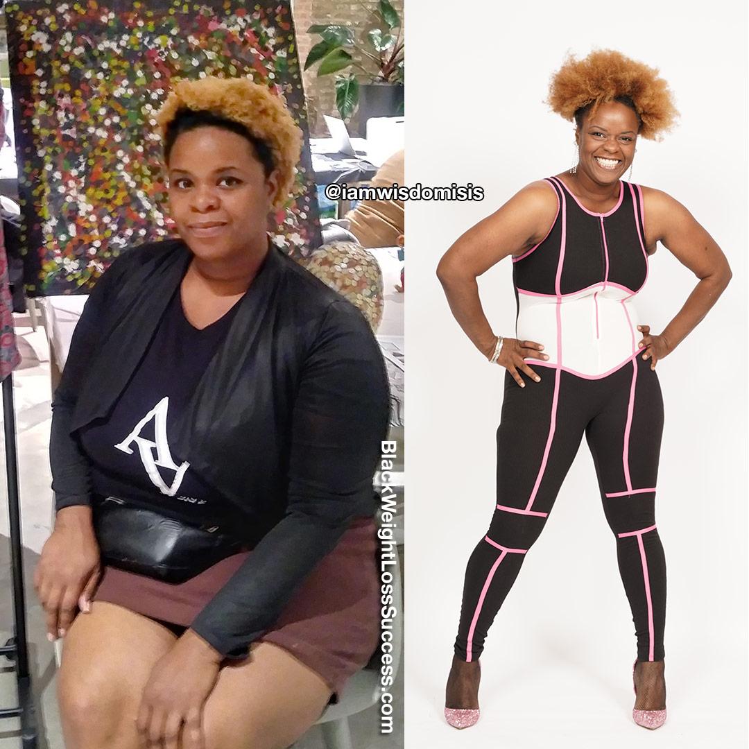 Shantae lost 62 pounds