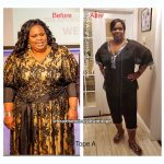 Tope lost 73 pounds