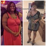 Sharese lost 60 pounds