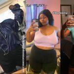Taniyah lost 85 pounds