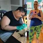 Amanda lost 86 pounds