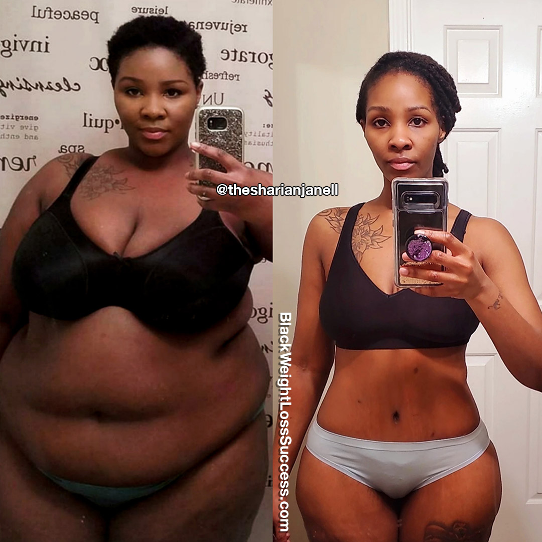 Sharian lost 116 pounds