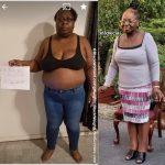 Alecia lost 97 pounds
