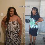 Sierra lost 80 pounds