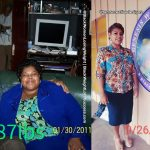 Tamarabefore and after weight loss